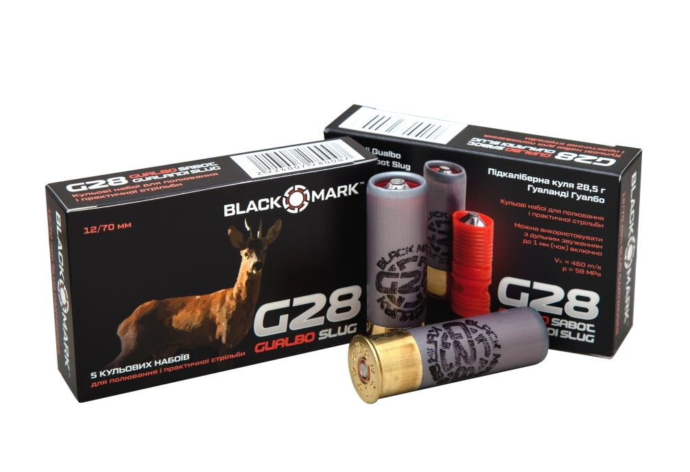 BLACK MARK G28 SLUG CARTRIDGES