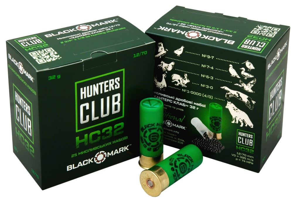 BLACK MARK HC32 HUNTING CARTRIDGES