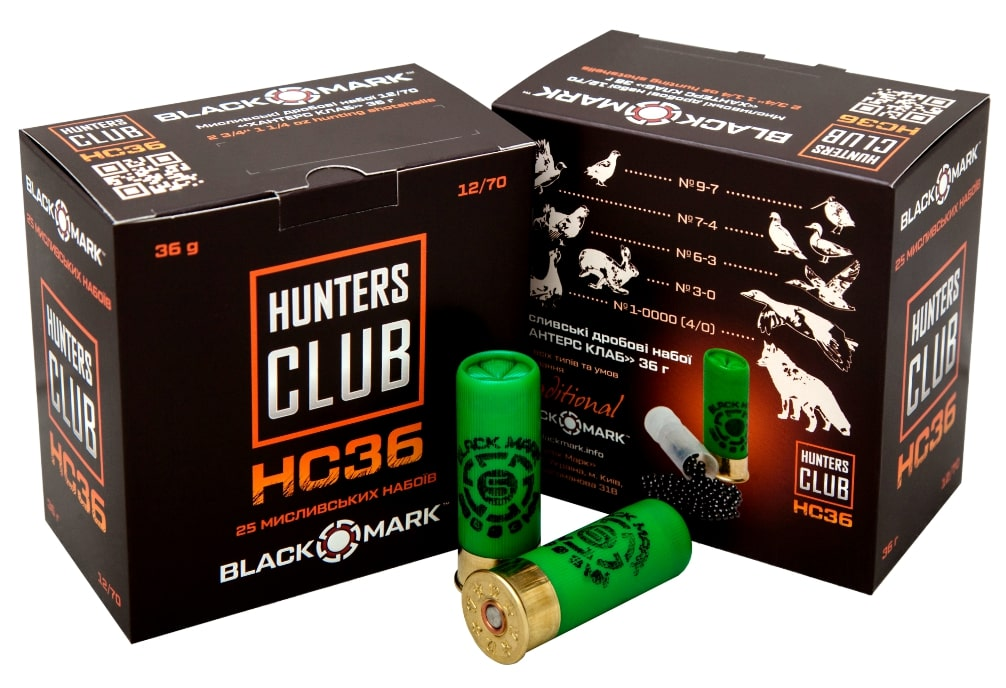 BLACK MARK HC36 HUNTING CARTRIDGES