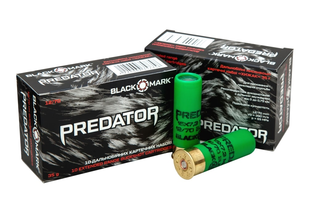 PREDATOR BUCKSHOT CARTRIDGES